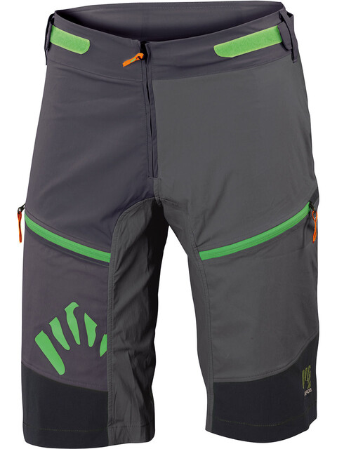 Karpos Rapid Baggy Shorts Men Black/Lead Grey/Dark Grey